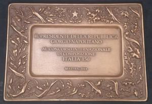 TARGA ITALIA 150